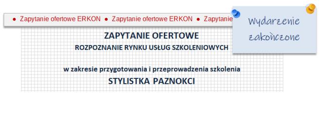 Oferentów prosimy o złożenie wypełnionego Formularza ofertowego do 26.06.2020 r.